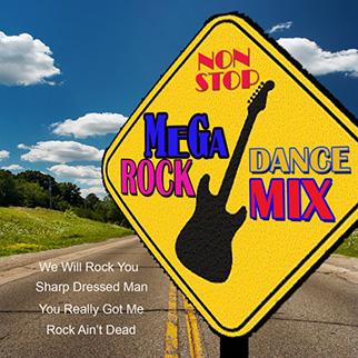 M.F. Band – Non-Stop Mega Dance Rock Mix