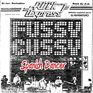 Fussy Cussy – Fussy Cussy in Puerto Rico, Spanish Dancer