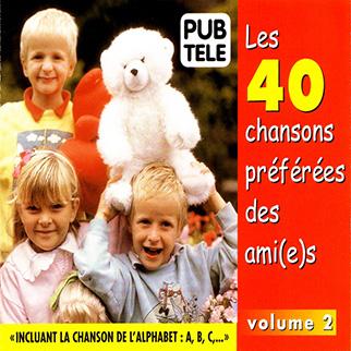 Various Artists – Les 40 Chansons Préferées des Ami(e)s