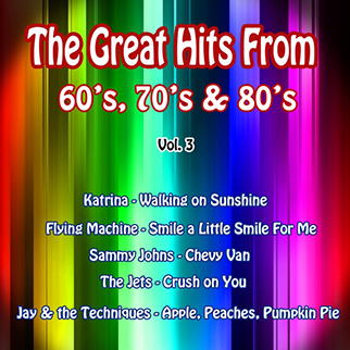 Various Artists – The Great Hits from 60's, 70's & 80's, Vol. 3